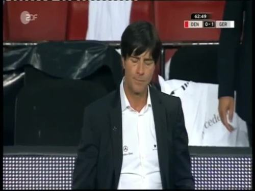 Denmark v Germany 2010 friendly - Jogi Löw 3