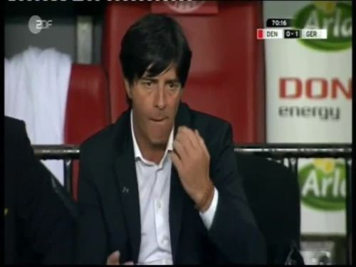 Denmark v Germany 2010 friendly - Jogi Löw 5