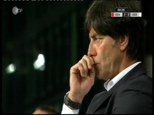 Denmark v Germany 2010 friendly - Jogi Löw 6