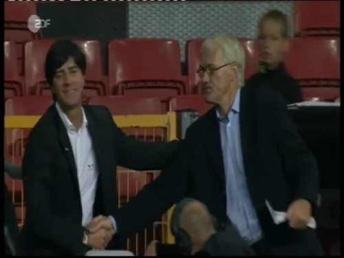 Denmark v Germany 2010 friendly - Jogi Löw 8