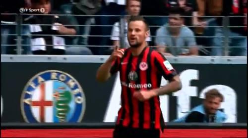 Eintracht Frankfurt v B04 - Seferovich goal 2