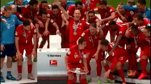 FCB celebrations 1