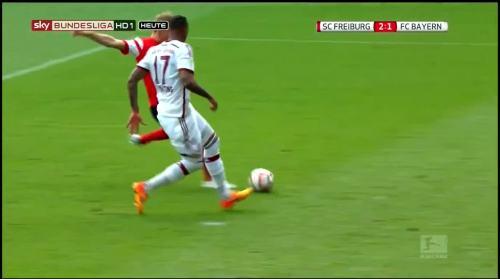 Freiburg - second goal against FCB 4