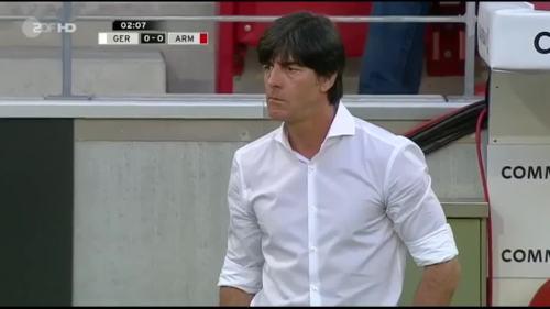Germany v Armenia - Joachim Löw 1