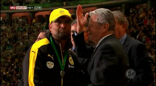 Jürgen Klopp - Runners up medal