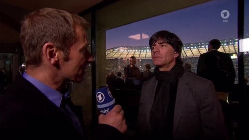 Joachim Löw - ARD interview - DFB Pokal Final 2015 1
