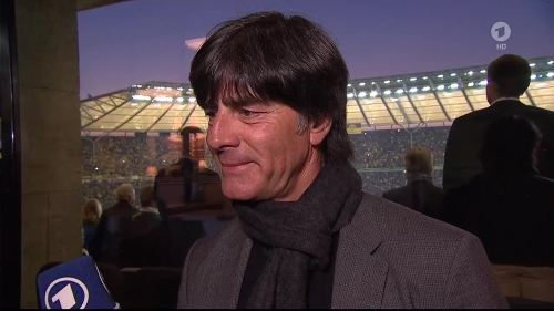 Joachim Löw - ARD interview - DFB Pokal Final 2015 2