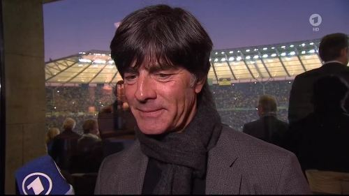 Joachim Löw - ARD interview - DFB Pokal Final 2015 3