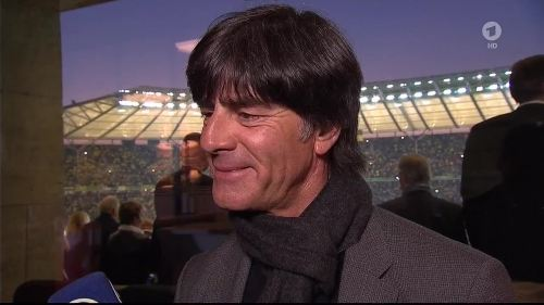 Joachim Löw - ARD interview - DFB Pokal Final 2015 4