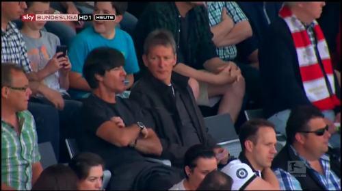 Joachim Löw at SC Freiburg v FC Bayern München 2 (1)