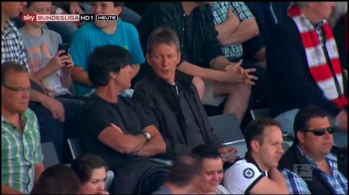 Joachim Löw at SC Freiburg v FC Bayern München 3