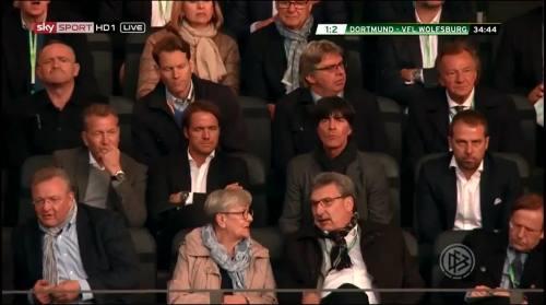 Joachim Löw & Hansi Flick at DFB Pokal final 2015 1