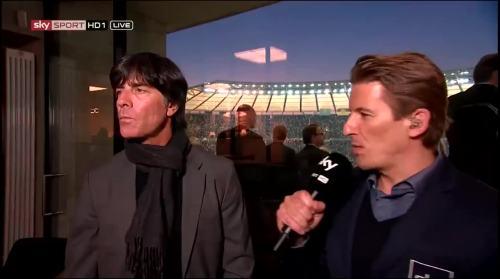 Joachim Löw - Sky interview -DFB Pokal final 2015 1