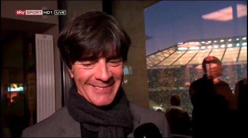 Joachim Löw - Sky interview -DFB Pokal final 2015 3