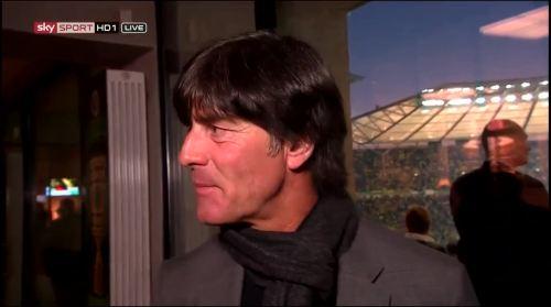 Joachim Löw - Sky interview -DFB Pokal final 2015 4