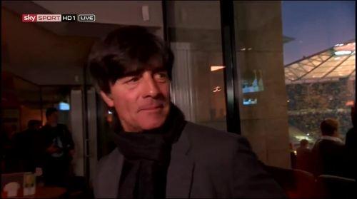 Joachim Löw - Sky interview -DFB Pokal final 2015 5