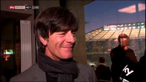 Joachim Löw - Sky interview -DFB Pokal final 2015 6