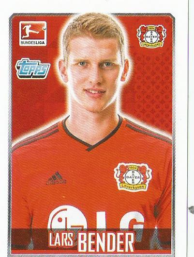 Lars Bender - Bayer - 04 Leverkusen