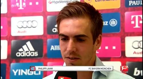 Philipp Lahm - post match interview