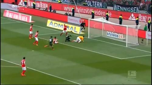 Second goal - H96 v SCF 1