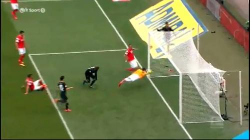 Second goal - H96 v SCF 17