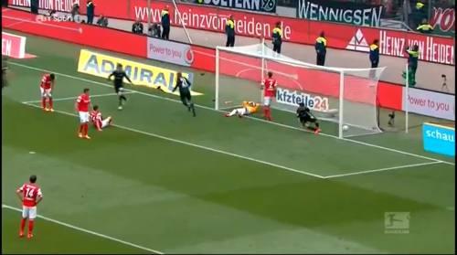 Second goal - H96 v SCF 3