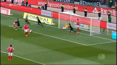 Second goal - H96 v SCF 4