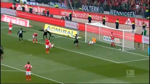 Second goal - H96 v SCF 5