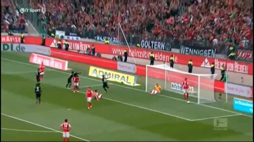 Second goal - H96 v SCF 6