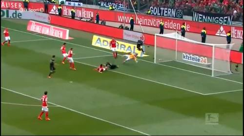 Second goal - H96 v SCF 7