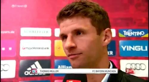 Thomas Müller - post match interview