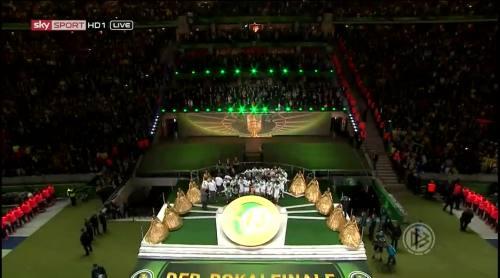 Wolfsburg celebrate 2