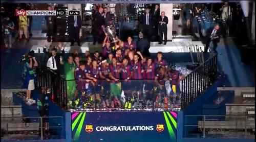 Barcelona celebrate 1