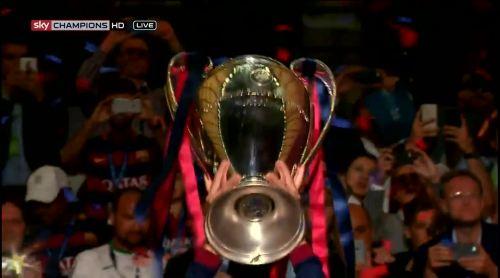 Barcelona celebrate 2