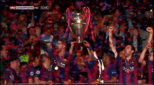 Barcelona celebrate 3