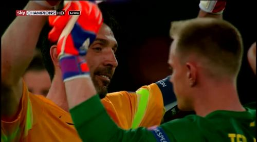 Buffon and Ter Stegen 1