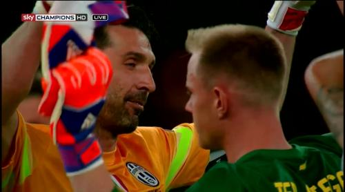 Buffon and Ter Stegen 2
