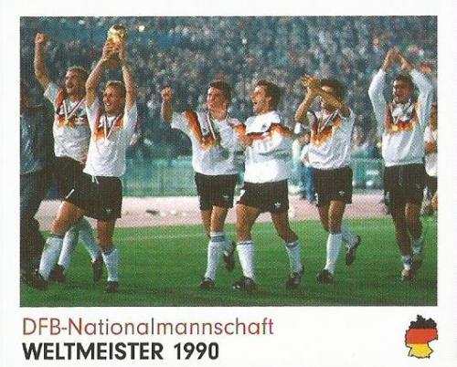 DFB-Nationalmannschaft - Weltmeister 1990