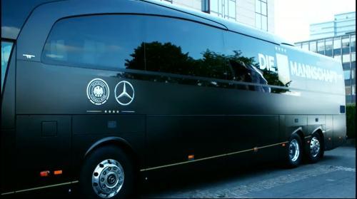 Die Mannschaft Bus - Tag zwei in Köln