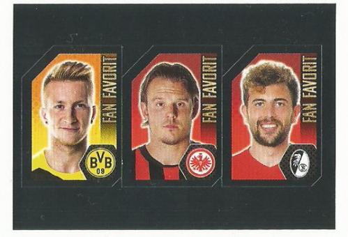 Fan favourites - Reus, Meier and Mehmedi
