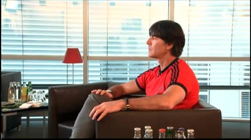 Germany v USA – pre-match show – Joachim Löw 1