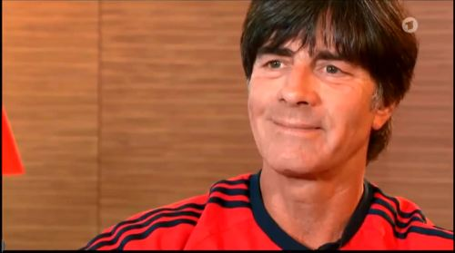 Germany v USA – pre-match show – Joachim Löw 2