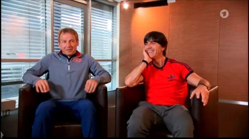 Germany v USA – pre-match show – Joachim Löw & Jürgen Klinsmann 1