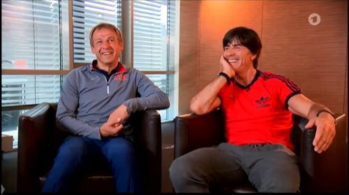 Germany v USA – pre-match show – Joachim Löw & Jürgen Klinsmann 12