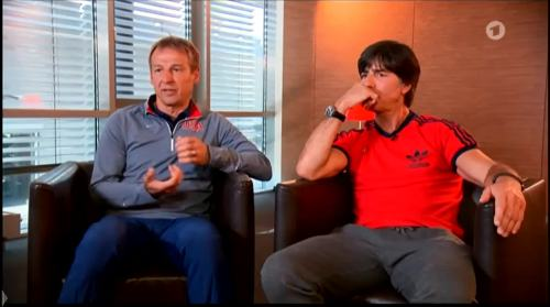 Germany v USA – pre-match show – Joachim Löw & Jürgen Klinsmann 13