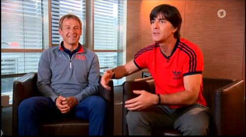 Germany v USA – pre-match show – Joachim Löw & Jürgen Klinsmann 3
