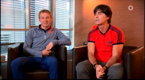 Germany v USA – pre-match show – Joachim Löw & Jürgen Klinsmann 6