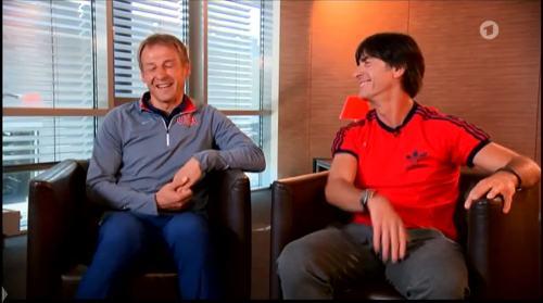 Germany v USA – pre-match show – Joachim Löw & Jürgen Klinsmann 8