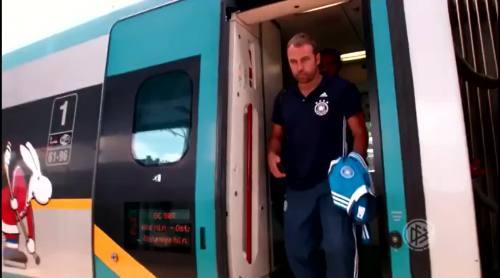 Hansi Flick - arrival in Olomouc 1