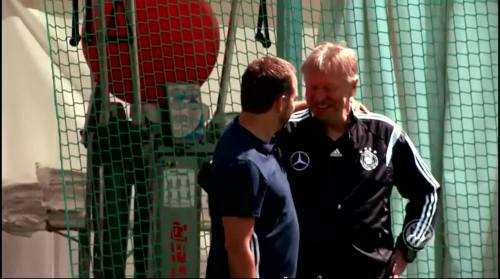 Hansi Flick & Horst Hrubesch 1